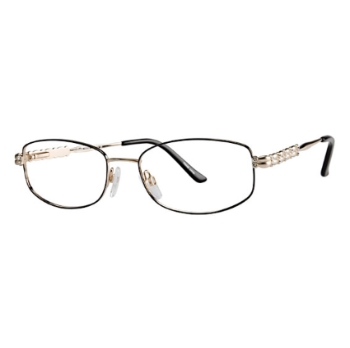 Vivid Womens Embellishment 656 Eyeglasses