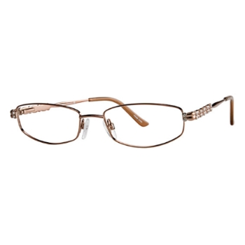 Vivid Womens Embellishment 655 Eyeglasses
