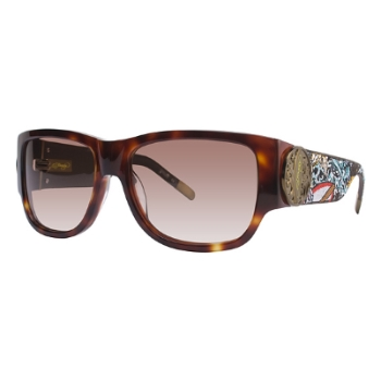 Ed Hardy EHS 040 SURF OR DIE Sunglasses
