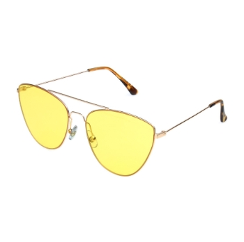 Anarchy Katviators Gold Sunglasses
