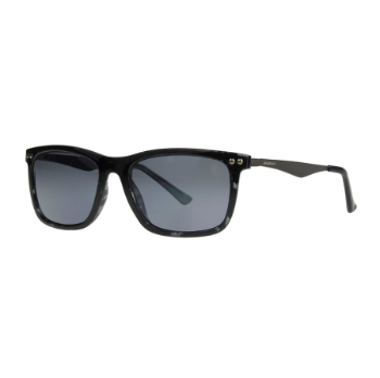 Anarchy Regi Shiny Black Sunglasses