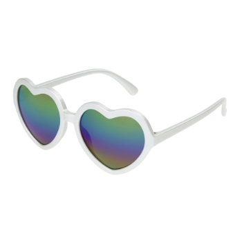 Anarchy Rikki White Sunglasses