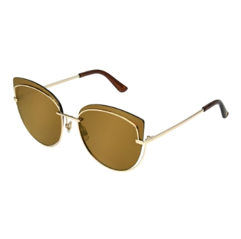 Anarchy The Kat Graham Gold Sunglasses