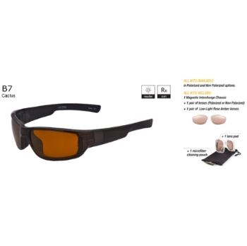 Switch B7 Cactus / Contrast Amber Reflection Bronze Polarized Glare Kit Sunglasses