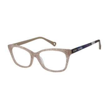 Betsey Johnson Graffiti Eyeglasses
