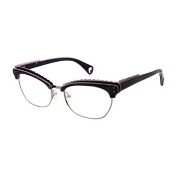 Betsey Johnson Mad For Mod Eyeglasses