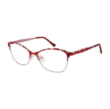 Betsey Johnson Rain Roses Eyeglasses