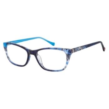 b9b90bacc78 Betsey Johnson Attraction Eyeglasses