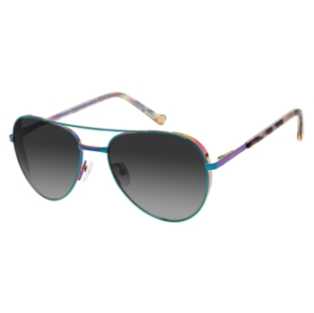 Betsey Johnson Hey Girl Sunglasses