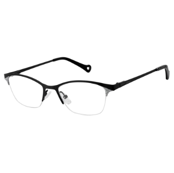 Betsey Johnson Sparkle Eyeglasses