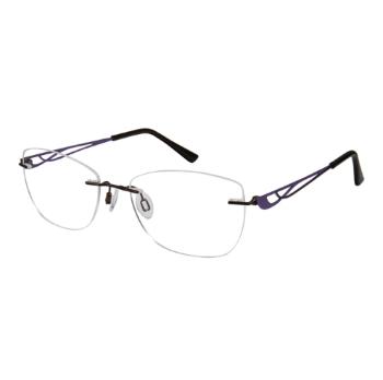 291756f591 Charmant Titanium TI 10979 Eyeglasses