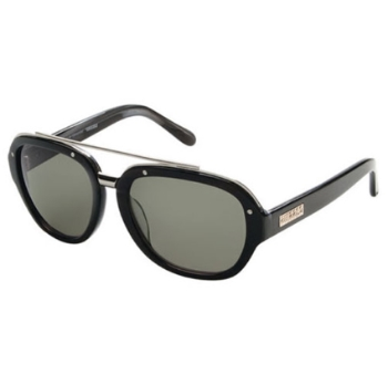 Cassius Tange Black Sunglasses