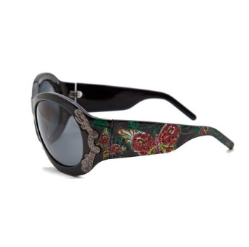 Christian Audigier CAS409 BUTTERFLY GARDEN Sunglasses