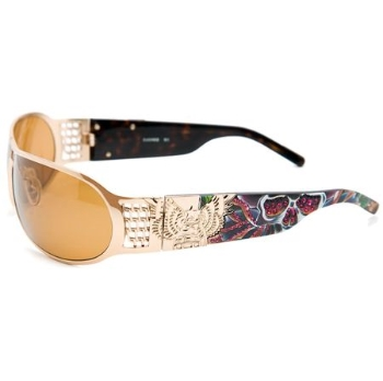 Christian Audigier CAS403 SPLATTER Sunglasses
