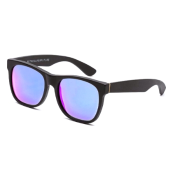 Super Classic I2MU 8IG Black Flash Matte Large Sunglasses