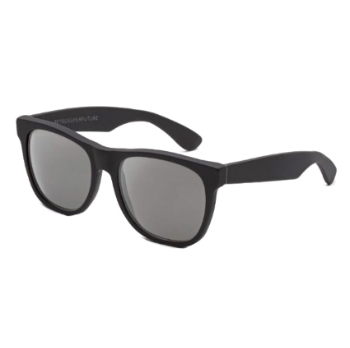 Super Classic I3LL 6QV Black Matte Mirror Large Sunglasses