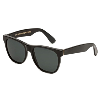 Super Classic ITV8 703 Black Polarized Lens Large Sunglasses