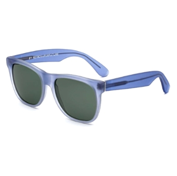 Super Classic IIBS 565 Velvet Baby Blue Large Sunglasses