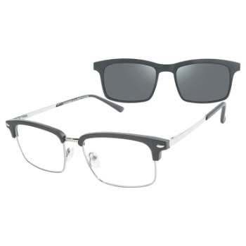 Cruz Hawthorne St w/ Magnetic Clip-On Eyeglasses
