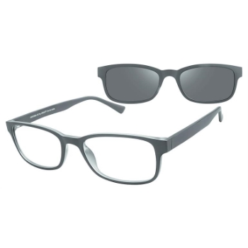 Cruz Oxford St w/ Magnetic Clip-On Eyeglasses