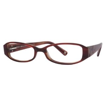 fdea09bc05f Daisy Fuentes Saddle Eyeglasses