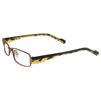 MDX - Manhattan Design Studio S3229 w/Magnetic Clip-ons Eyeglasses