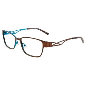 MDX - Manhattan Design Studio S3296 w/Magnetic Clip-ons Eyeglasses
