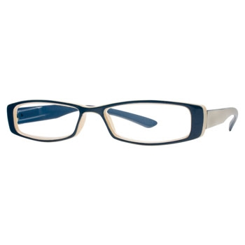 Hilco Readers FF606 Blue Eyeglasses