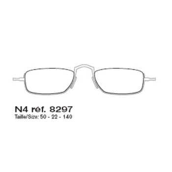 FRED FORCE 10 ST THOMAS N4 8297 Eyeglasses