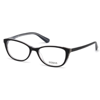 08a8970510 Guess Womens 52mm Eyesize 135mm Temples Eyeglasses