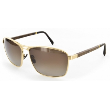 Gold & Wood Born Essentials Sunglasses