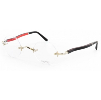 Gold & Wood Boston 01 Eyeglasses