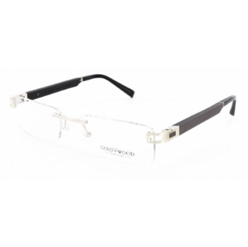 Gold & Wood Cosmos 01 Eyeglasses
