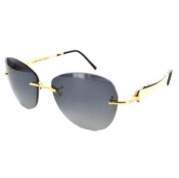 Gold & Wood Donna 01 Sunglasses