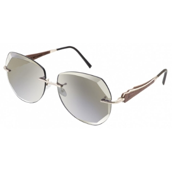 Gold & Wood Donna 03 Sunglasses
