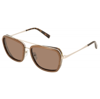 Gold & Wood Homan 01 Sunglasses