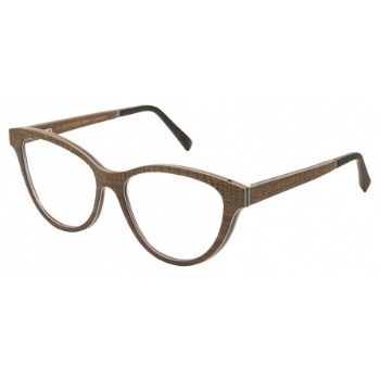 Gold & Wood Nude 01 Eyeglasses