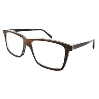 Gold & Wood Nod 01 Eyeglasses