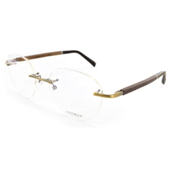 Gold & Wood Rome 01 Eyeglasses