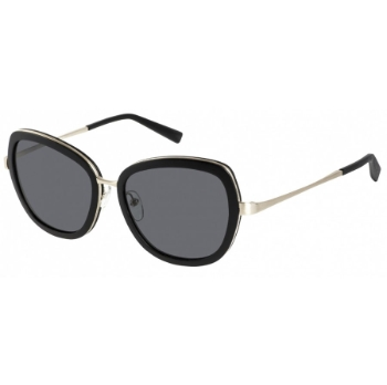 Gold & Wood Sunset 01 Sunglasses