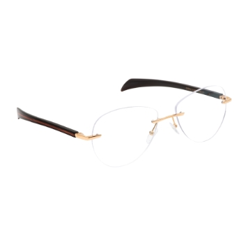 Gold & Wood Mercure 13 Eyeglasses