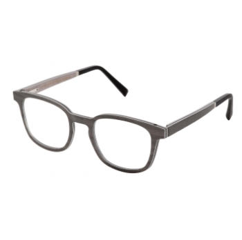Gold & Wood Pulsar 01 Eyeglasses