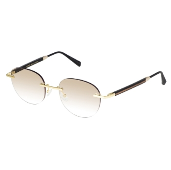 Gold & Wood Windsor 14.08.01.CMB33 Sunglasses