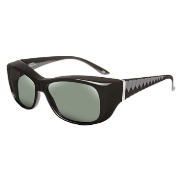 Haven Polarized Morgan Debossed Chevron Fits-Over Sunglasses
