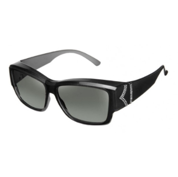 Haven Polarized Stella Chevron/Bar Fits-Over Sunglasses