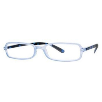 Hilco Readers FF605 Blue Eyeglasses