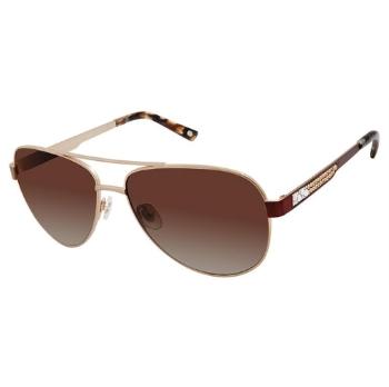 c748ab1ded Jimmy Crystal New York JCS119 Sunglasses