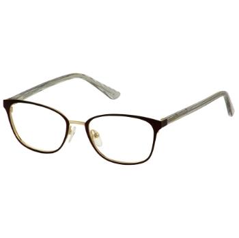 678563e1682 Jill Stuart Burgundy Eyeglasses