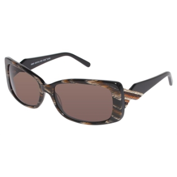 Jimmy Crystal New York JCS351 Sunglasses