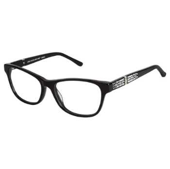 Jimmy Crystal New York Bordeaux Eyeglasses